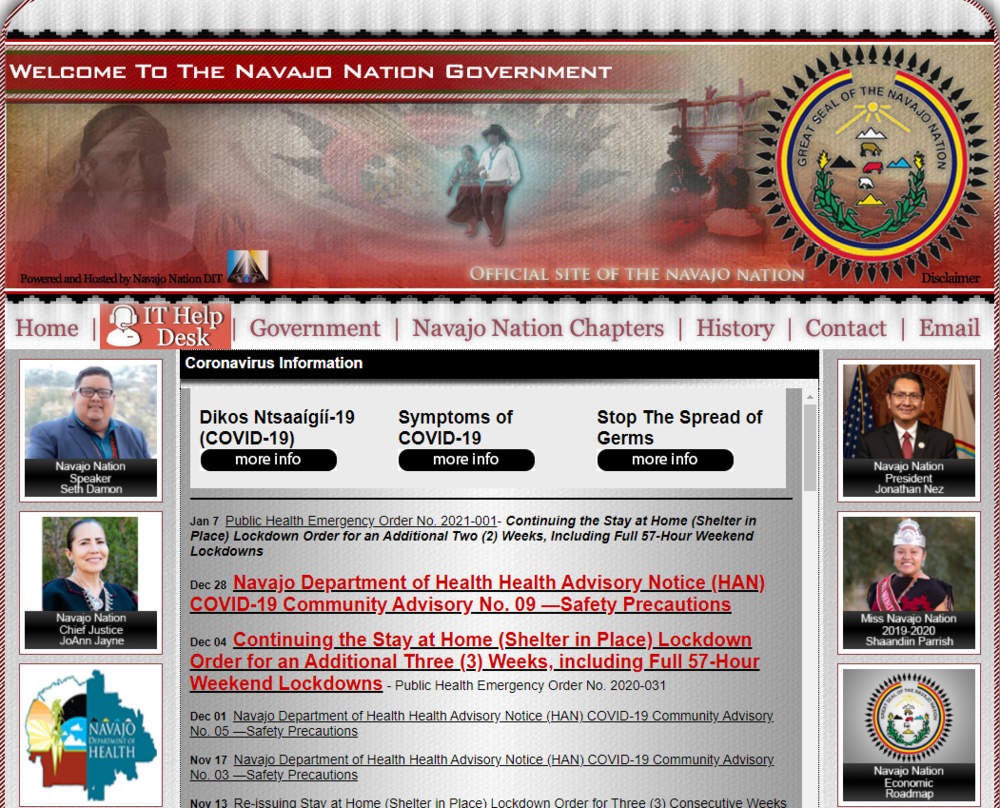 Navajo Nation: For Immediate Release