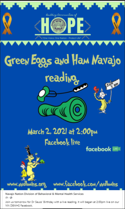 Green Eggs and Ham Navajo