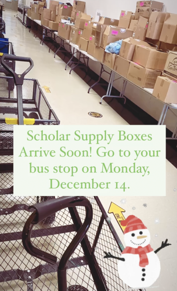 Time to Get Scholar Supply Box!